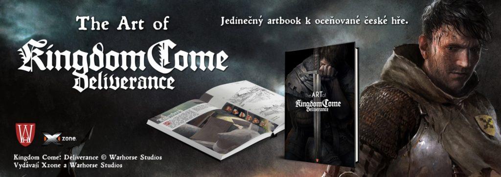Royal edice Kingdom Come: Deliverance s kompletním obsahem Kniha The Art of Kingdom Come Deliverance