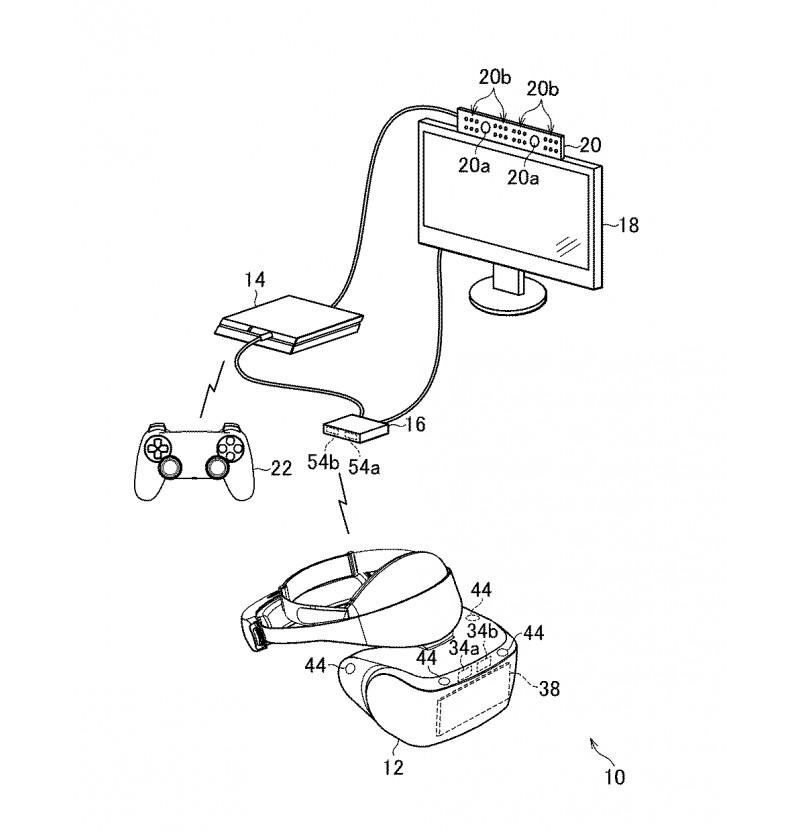 Patent naznačuje nový model PlayStation VR, tentokrát bez kabelu PlayStation VR nova verze bez kabelu