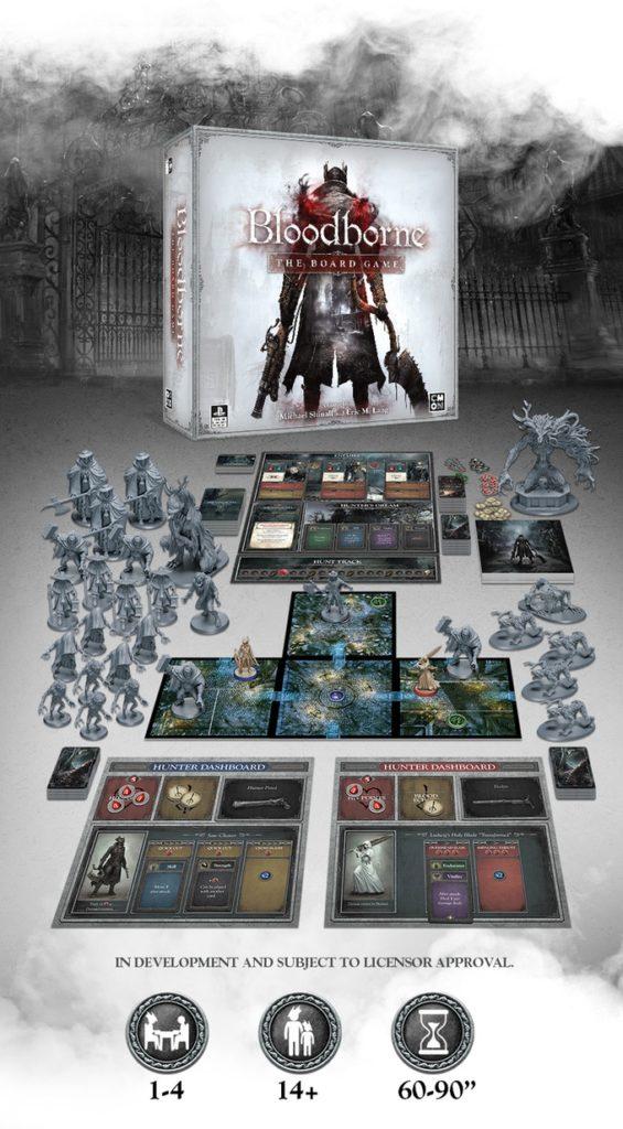 Stolní Bloodborne se na Kickstarteru zaplatilo za pouhých 17 minut bloodborne the board game 01