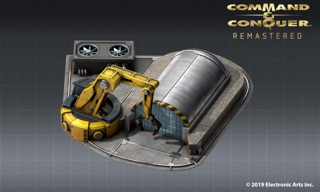 První artwork z Command & Conquer Remastered cac remastered stavba artwork