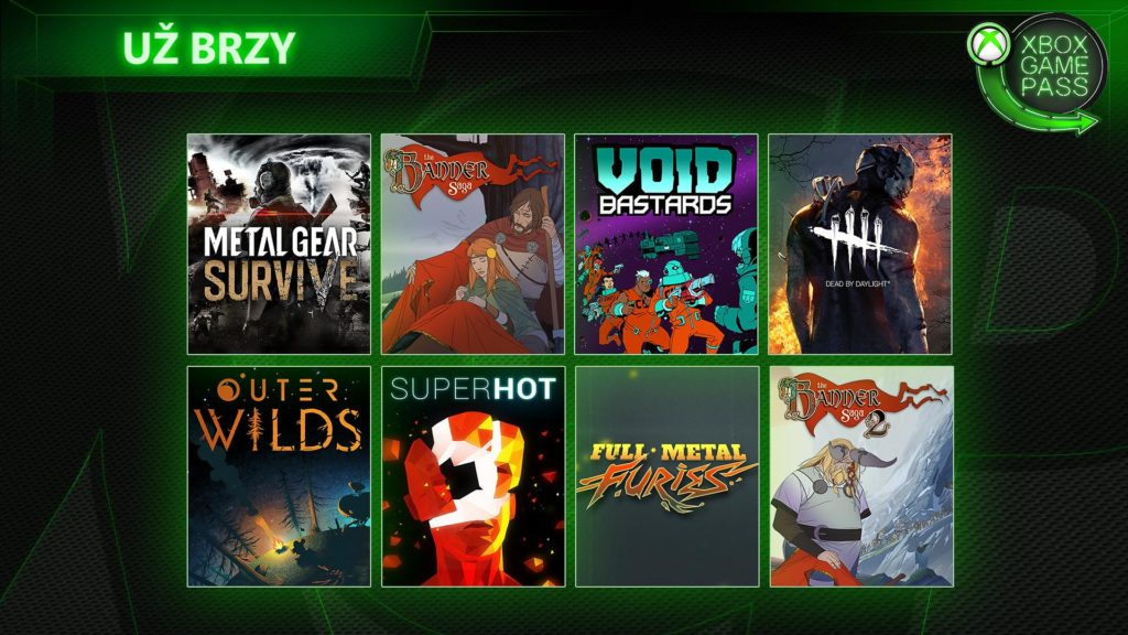 Xbox Game Pass přivítá Metal Gear Survive nebo Dead by Daylight Xbox Game Pass