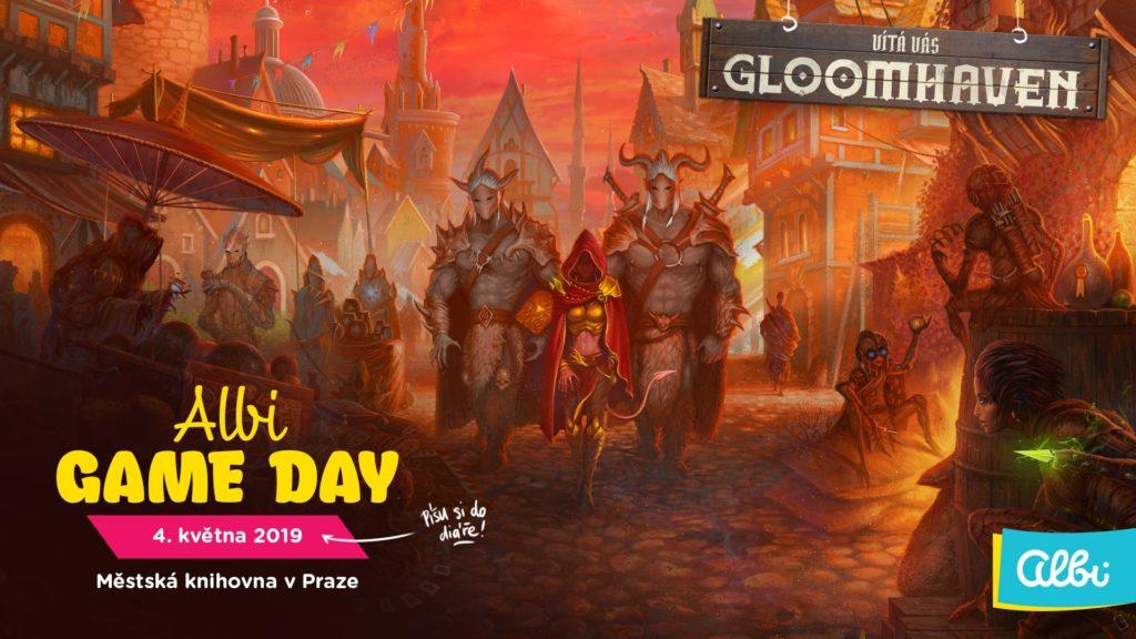 Třetí ročník Albi Game Day nejen ve jménu Gloomhavenu gloomhaven