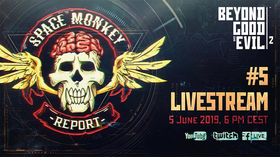 Beyond Good and Evil 2 nebude na E3, ale o novinky nepřijdeme space monkey report 5