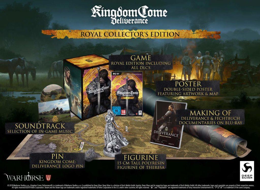 Zítra startují předobjednávky sběratelského balení Kingdom Come: Deliverance Royal Edition 71FyD94i8mL. AC SL1500