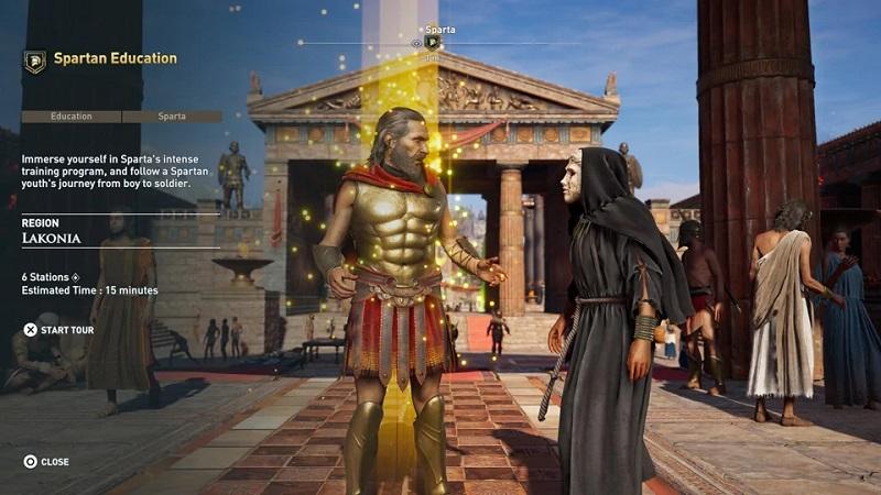 Assassin's Creed Odyssey se dočká Discovery Touru i nástrojů na vytvoření vlastních questů discoverytour ancient greece by