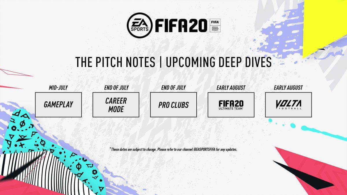FIFA 20 přinese i posun v hratelnosti fifa rozvrh