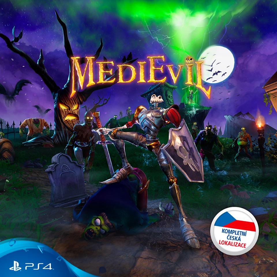 Remake MediEvil dostane plnou českou lokalizaci medivale
