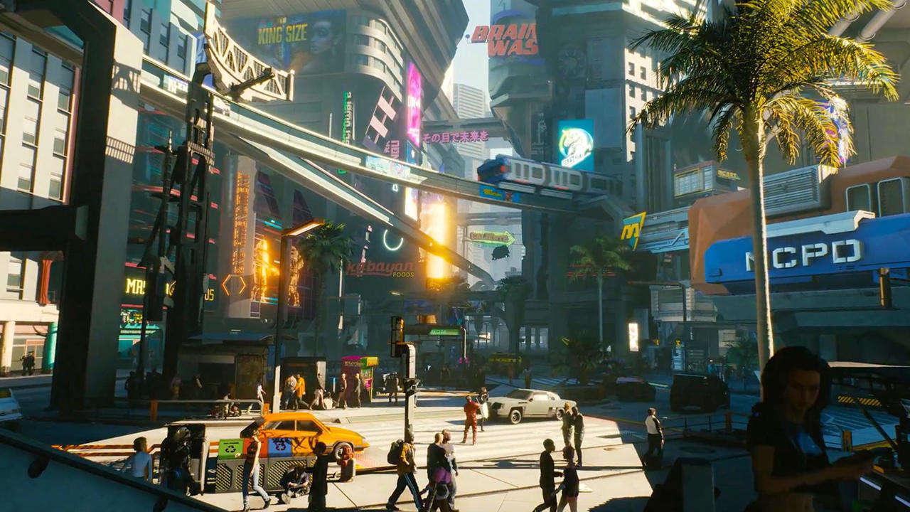 Cyberpunk 2077 bude mít menší mapu než Zaklínač 3 night city