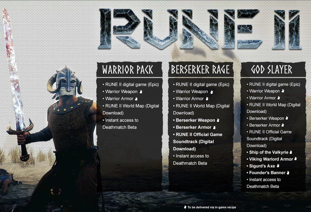 Vikinská řežba Rune II se nakonec dočká svého vydání Preorder