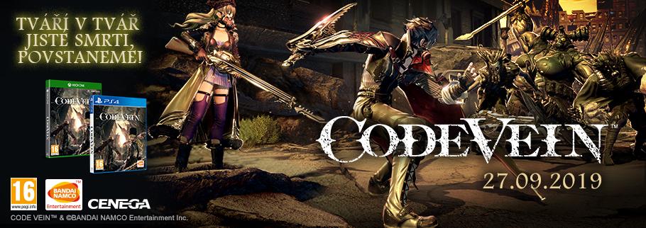 Zítra vyjde Code Vein codeveinzone