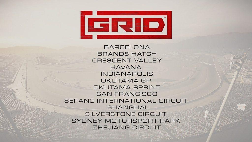 GRID tracks