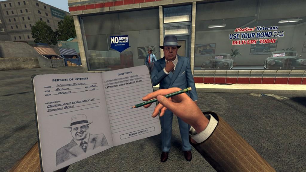L.A. Noire: The VR Case Files vyšly na PlayStation VR lanoirevr01