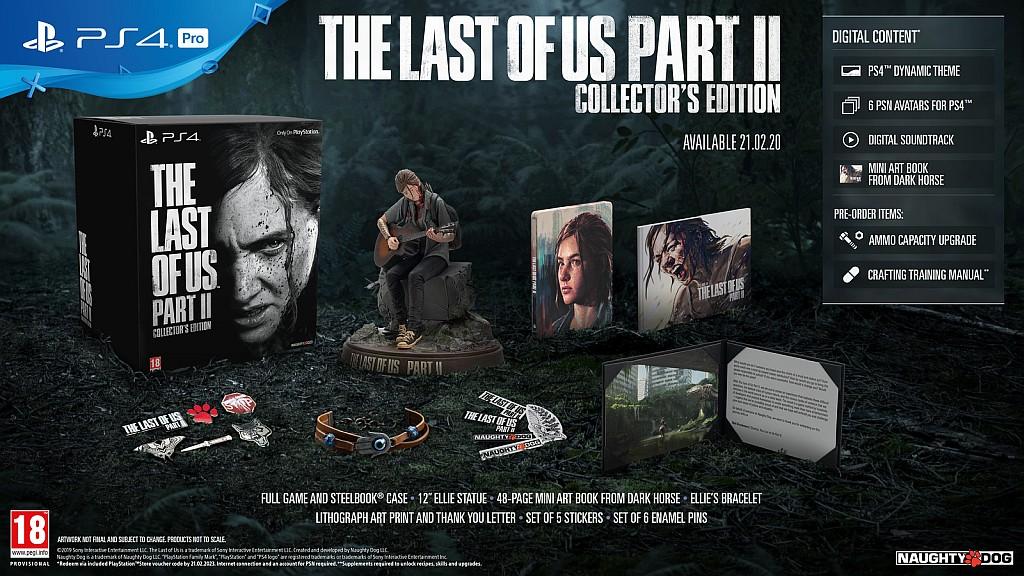 The Last of Us: Part II už zná své sběratelské edice lastofusp2coll