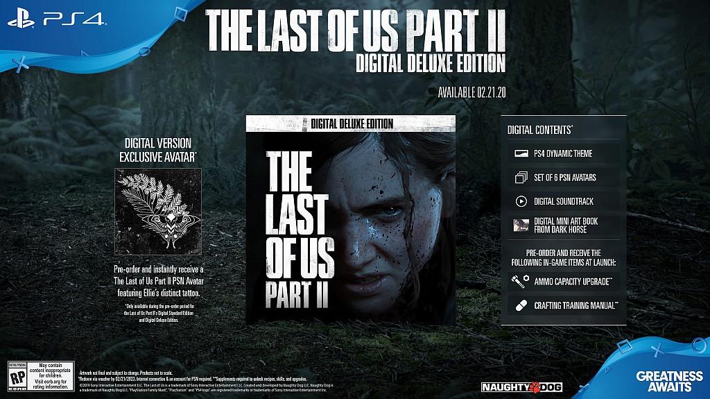 The Last of Us: Part II už zná své sběratelské edice lastofusp2dig
