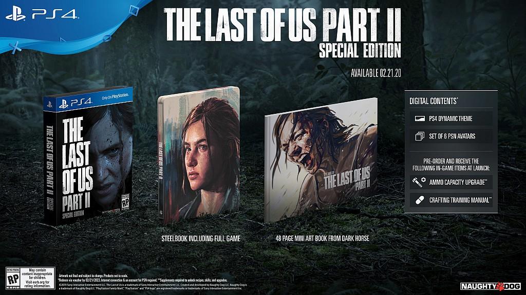 The Last of Us: Part II už zná své sběratelské edice lastofusp2spec