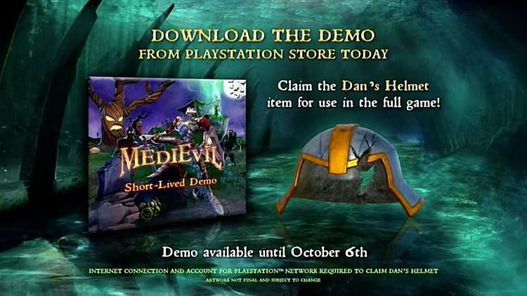 Zahrajte si MediEvil již dnes medievildemohelm