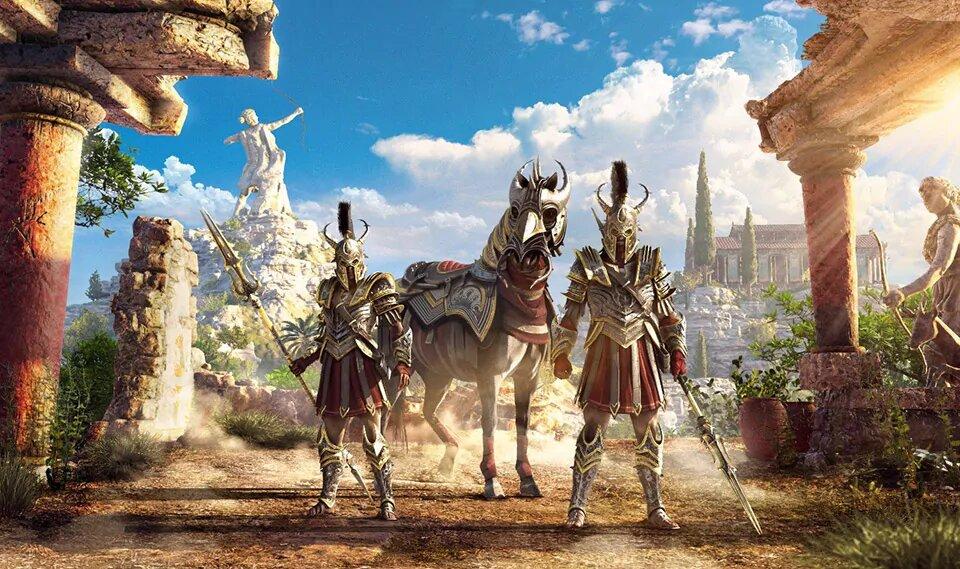 Assassin´s Creed Odyssey konečně přidává Discovery Tour myrmidon pack