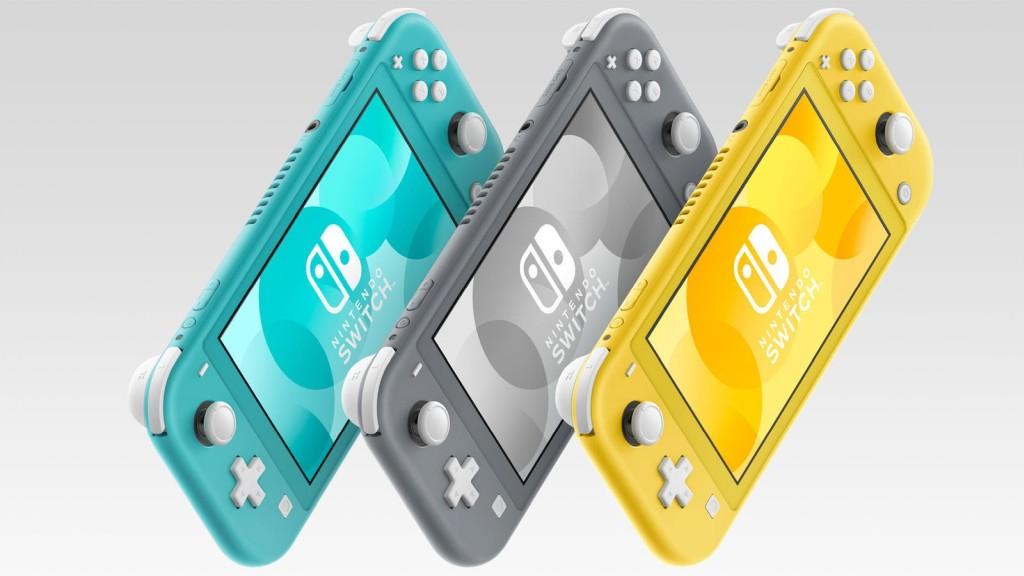 Nintendo Switch Lite může mít potíže s hrami nintendoswitchliteart 1