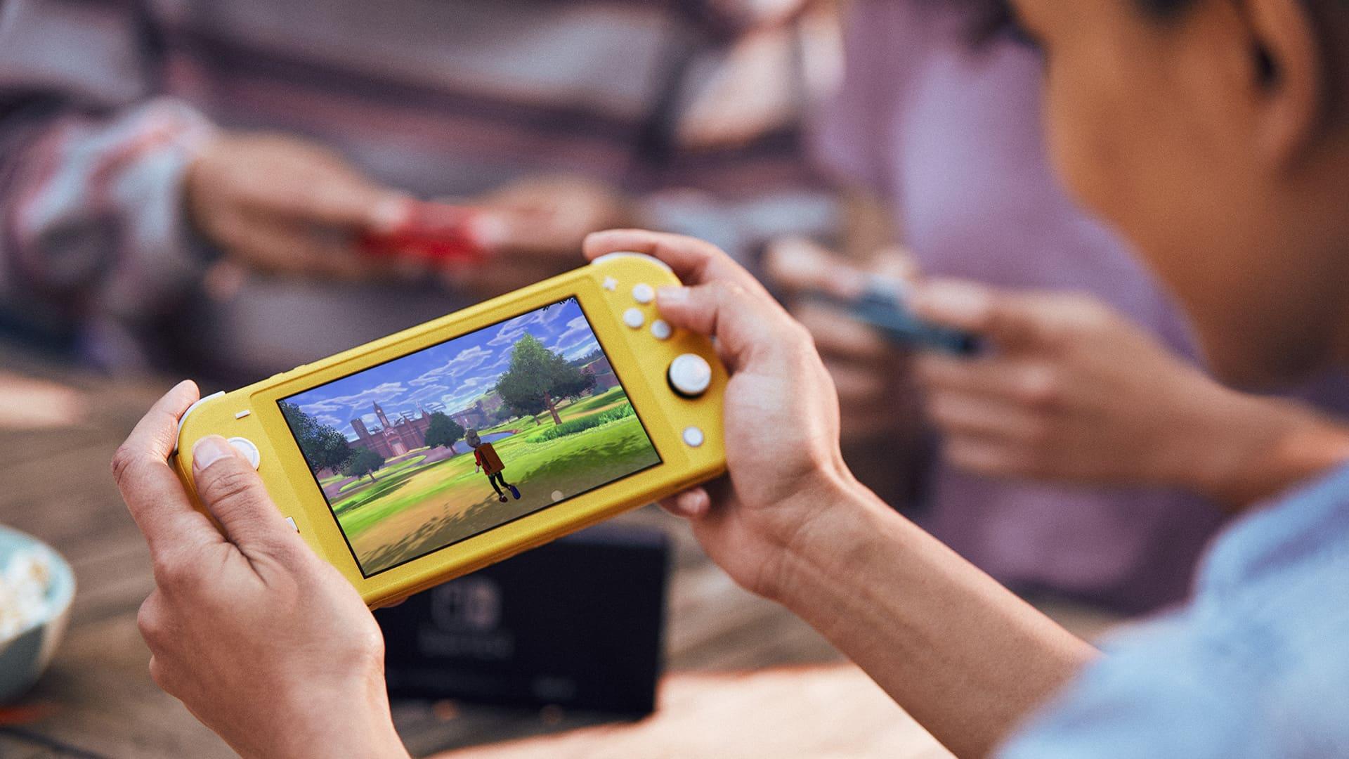 Nintendo Switch Lite podrobněji nintendoswitchliteplay
