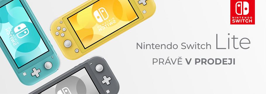 Nintendo Switch pokořilo 10 milionů prodaných kusů nintendoswitchlitesell