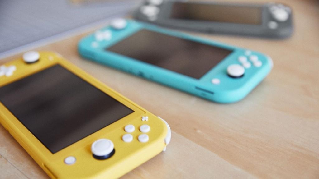 Vadné páčky má i Nintendo Switch Lite nintendoswitchlitetri