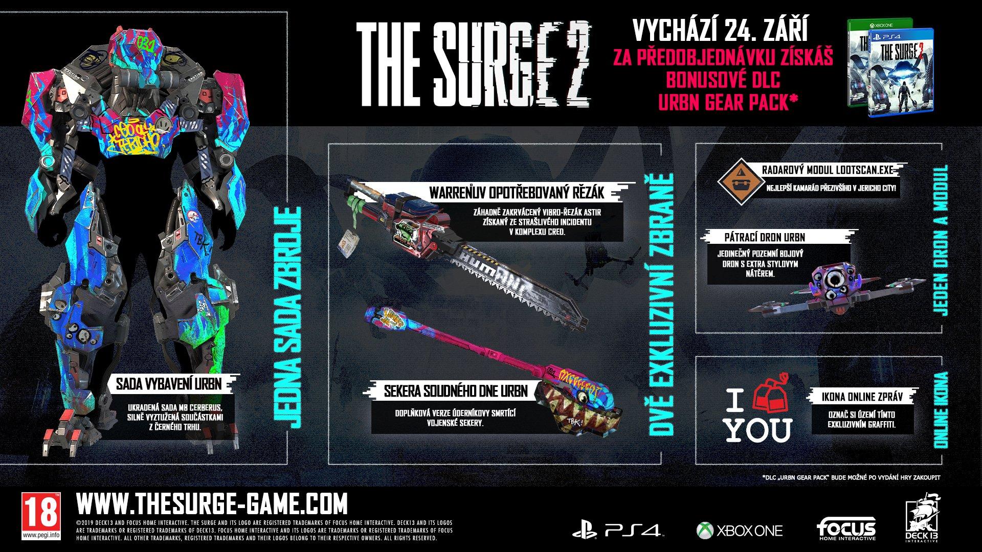 The Surge 2 využije sílu PS4 Pro a Xbox One X surge2dlc