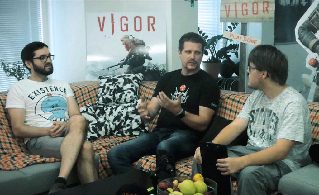 Rozhovor s tvůrci hry Vigor vigor rozhovor