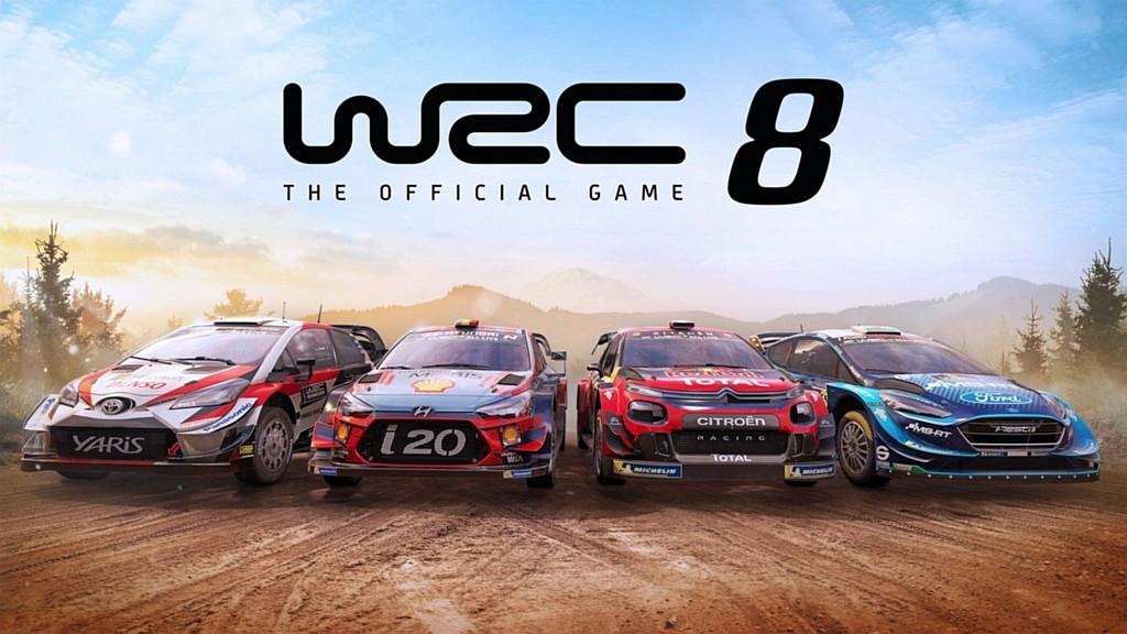 WRC 8 na PC v ultra širokoúhlém rozlišení wrc8poster