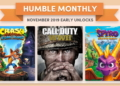 Hry v Humble Monthly za listopad Humble Monthly November