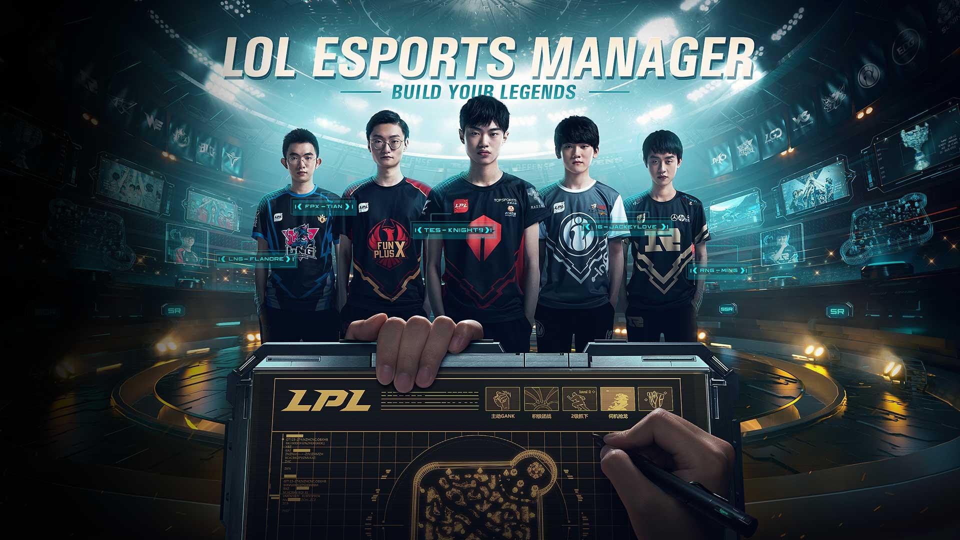 Budoucnost Riot Games v kostce LoL Esport Manager