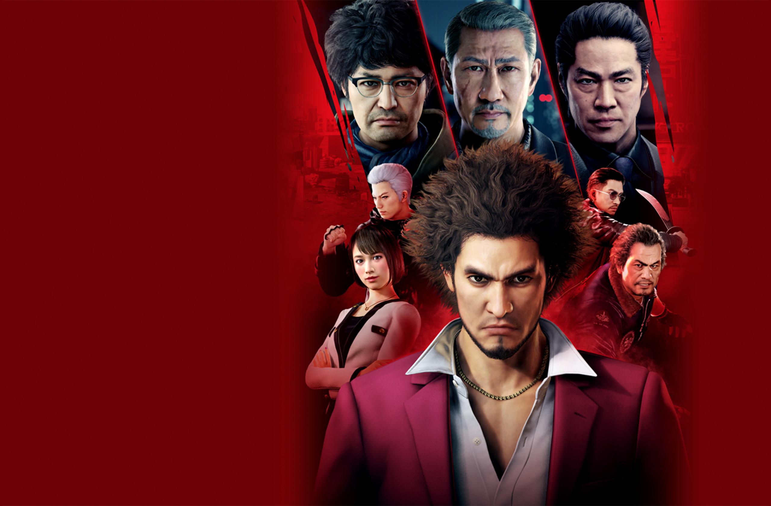 Live stream gameplay Yakuzy: Like a Dragon Yakuza 7 JPN Package Visual 10 29 19 001