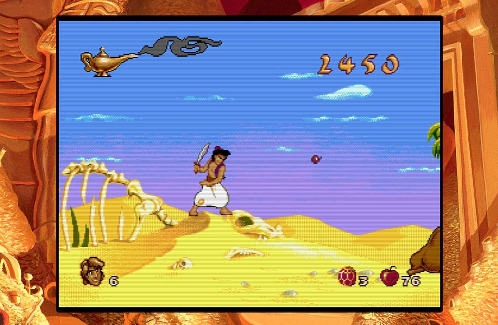 Disney Classic Games: Aladdin and Lion King aladdin01