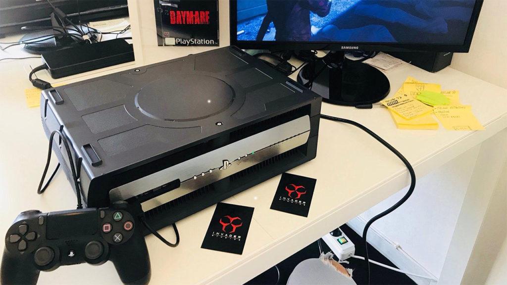 Uniklé fotky ukazují devkit PlayStation 5 devkit ps4