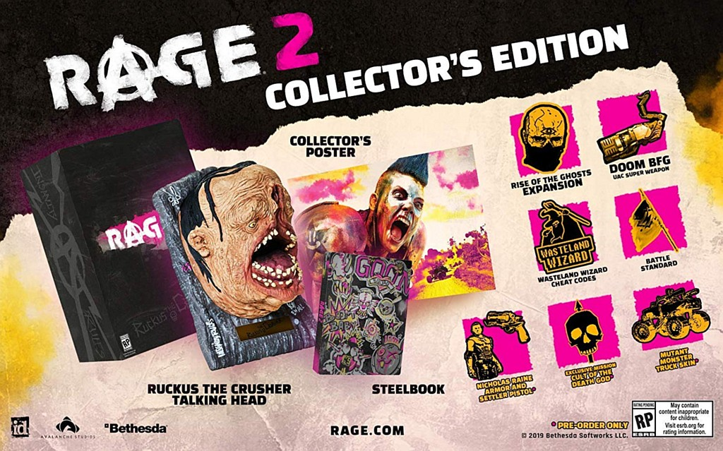 RAGE 2 - Rise of the Ghosts rage2coll