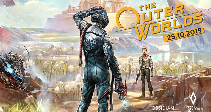 Přilétá sci-fi RPG The Outer Worlds