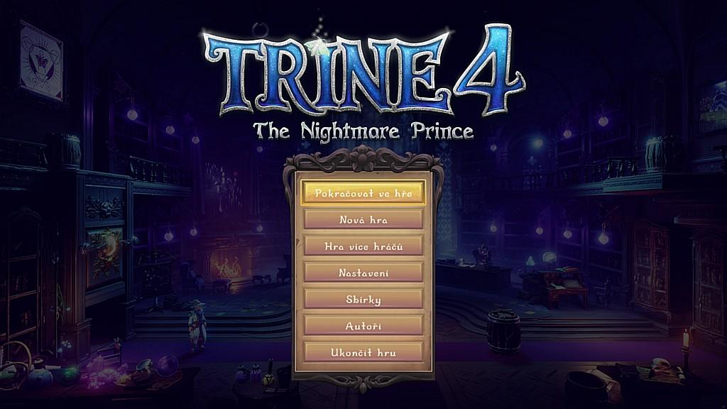 Trine 4: The Nightmare Prince je v češtině trine01