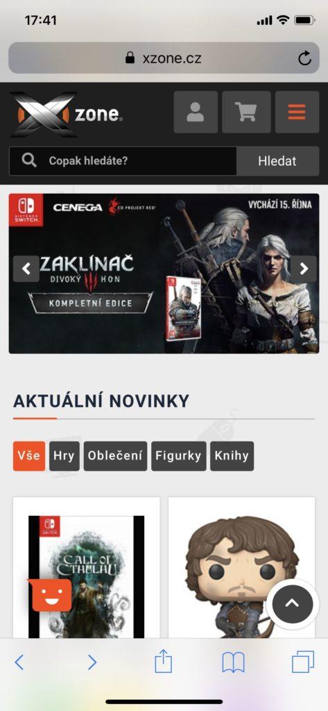 Xzone má nový web xzone3