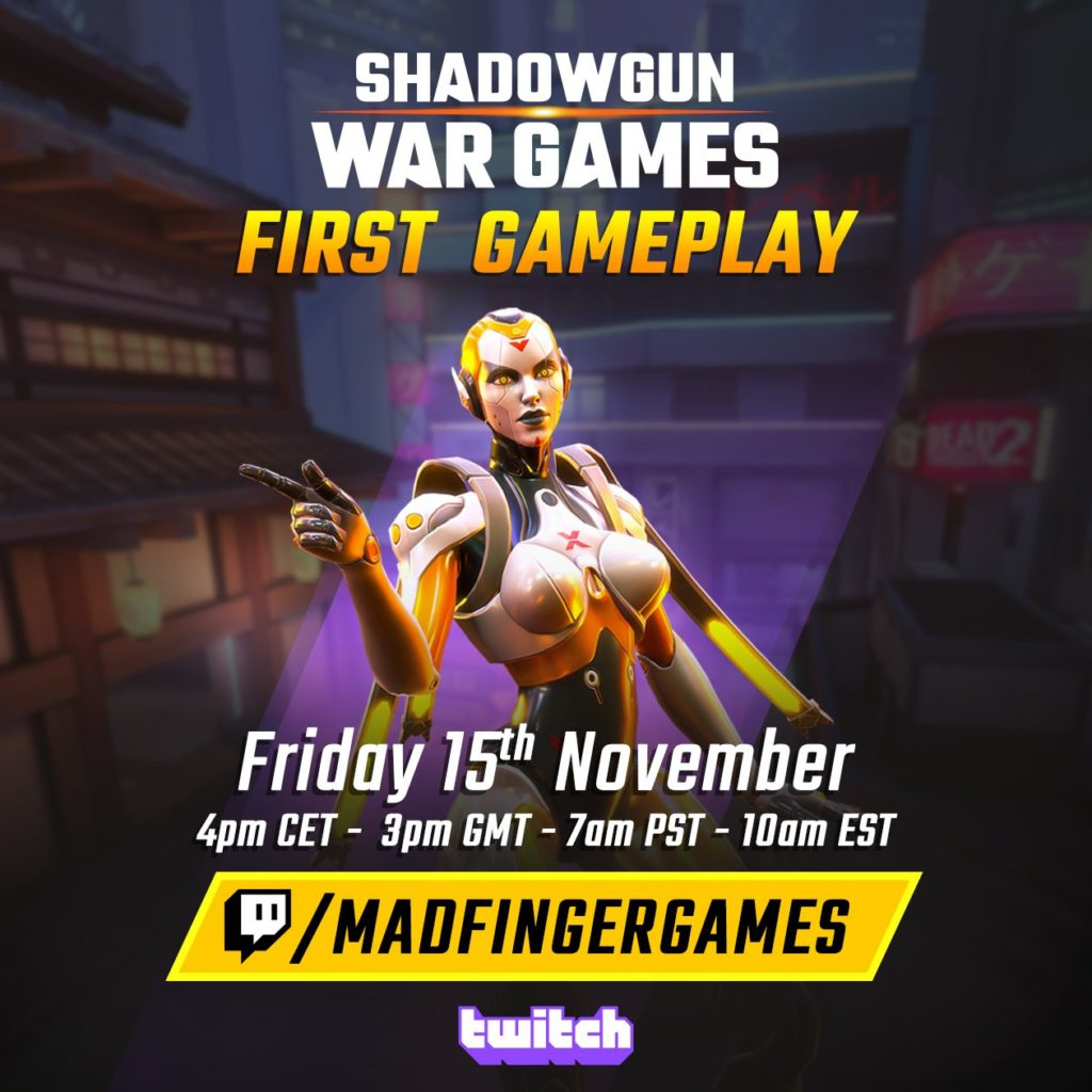 Shadowgun: War Games - dnešní livestream 1 1 Invite stream v4 1