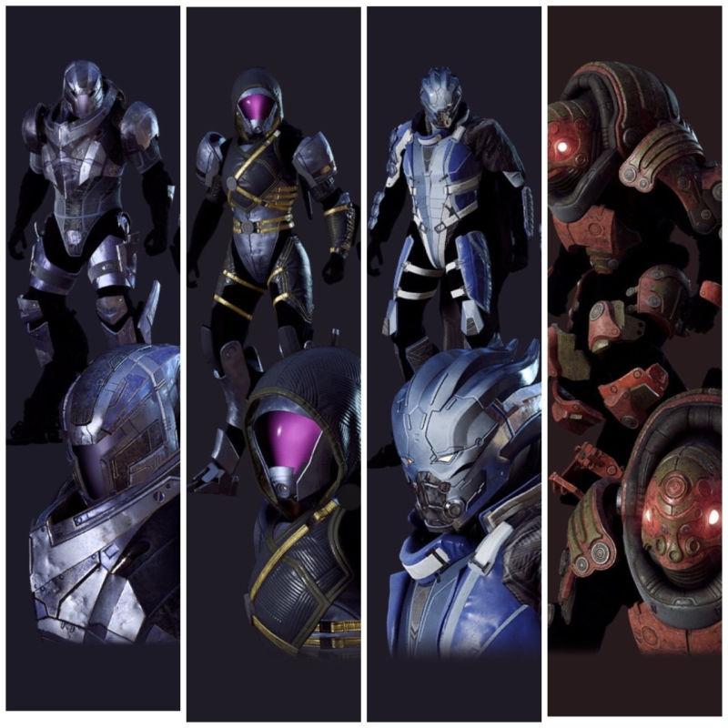 N7 DAY 2019 - vzpomínáme na Mass Effect Anthem ME skins