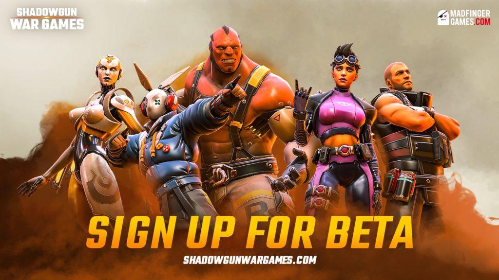 Shadowgun: War Games - dnešní livestream Characters