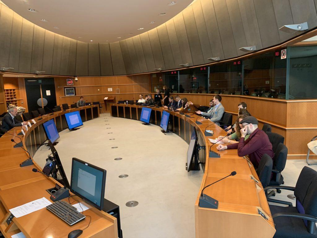 Reportáž: české hry v Evropském parlamentu IMG 1116
