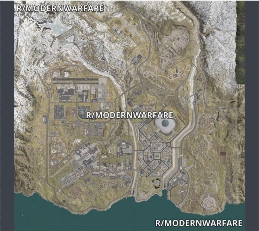 Uniklé podrobnosti o Battle Royale pro Modern Warfare Mapa