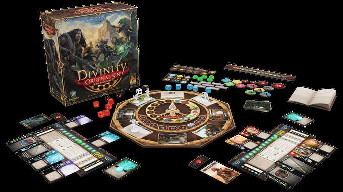 Divinity Original Sin v deskovkové podobě Original Sin Boardgame