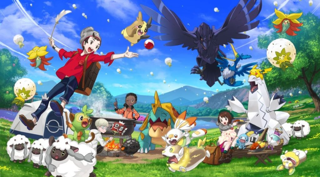 Recenze: Pokémon Sword & Shield PokemonSwordShield Sep52019 SWSH Art png jpgcopy 1038x576