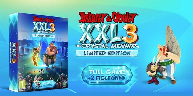 Recenze Asterix & Obelix XXL 3 – The Crystal Menhir