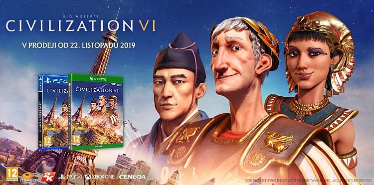 Sid Meier's Civilization VI i na konzolích civilization6consolepromo