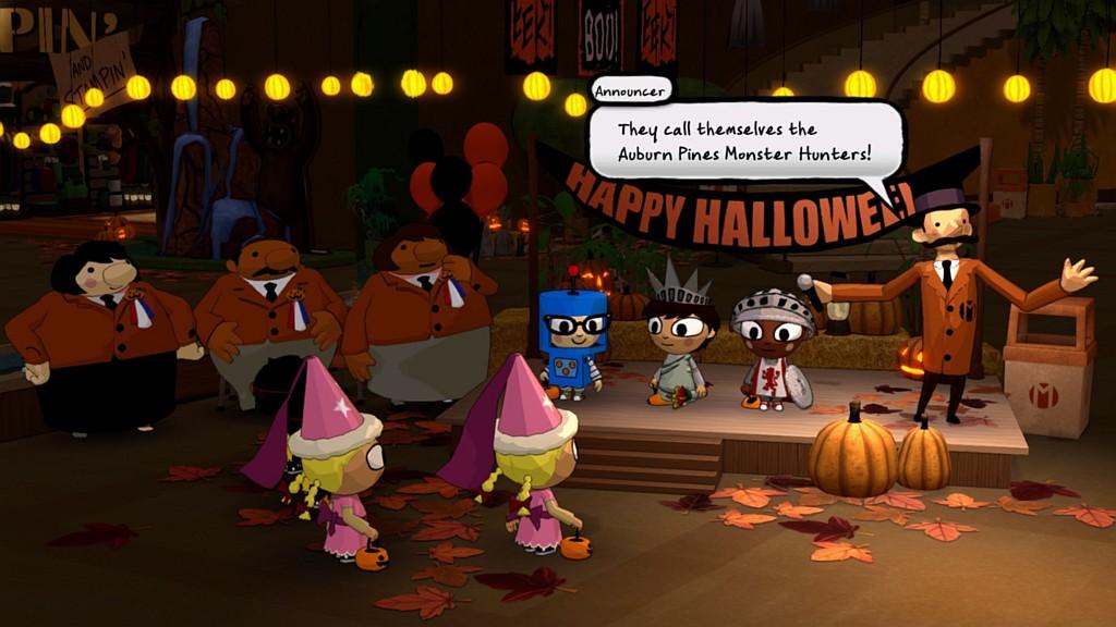 Oslavte Halloween s dvojicí her zdarma costumequest01