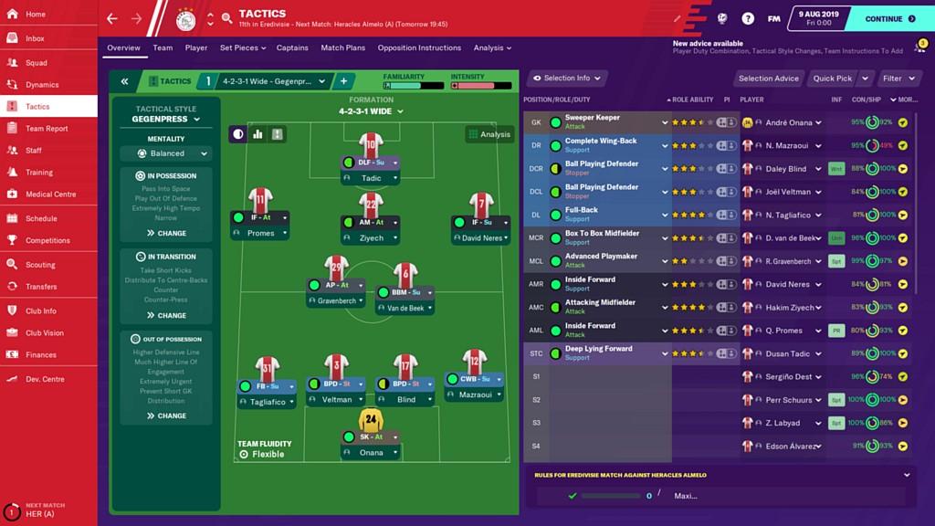 Trénujte ve Footbal Manager 2020 footbalman2020sc