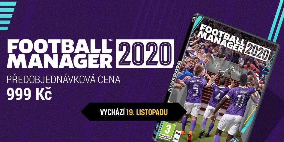 Trénujte ve Footbal Manager 2020