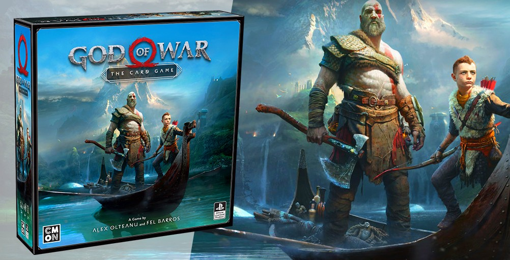 God of War – karetní hra godofwarcardgameart
